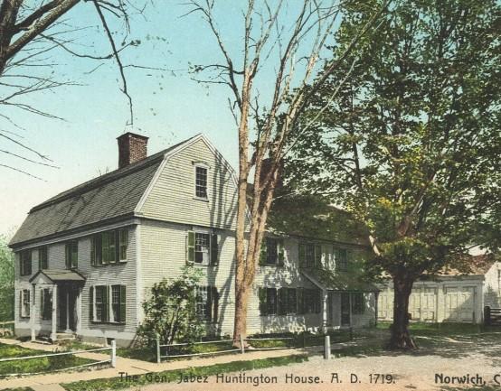 Stop 14 - Gen. Jabez Huntington House 1719